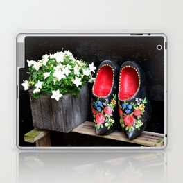 Clogs and te flowers Laptop & iPad Skin