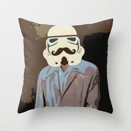 Proper Stormtrooper Throw Pillow