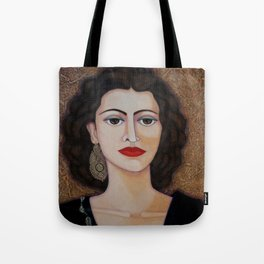 Amalia Rodrigues – Music born in the soul Tote Bag