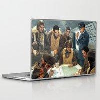 teen wolf Laptop & iPad Skins featuring Teen Wolf Pilot AU by DeadPlants