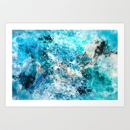 Water's Dance Art Print