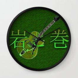 Rock & Roll Lost-in-Translation Wall Clock