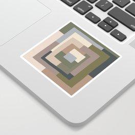 Abstract Neutrals Sticker