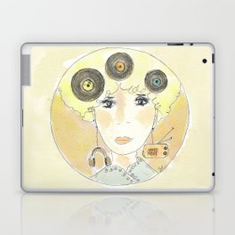 Thoughts at 45 rpm Laptop & iPad Skin