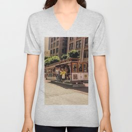 Downtown SF Unisex V-Neck