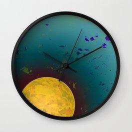 Dust 01 - Post Biological Universe Wall Clock