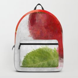 Big Red Apple Backpack