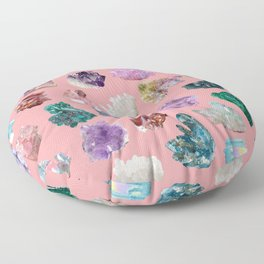 Magic Crystals Floor Pillow
