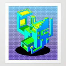 Cool Haus Art Print