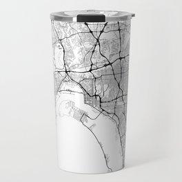 Minimal City Maps - Map Of San Diego, California, United States Travel Mug