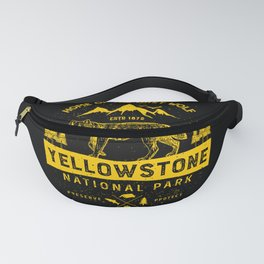 Yellowstone National Park Grey Wolf Fanny Pack