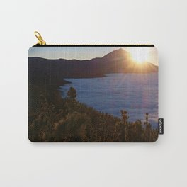 Sunset Canary Islands forest and Volcano Teide in Tenerife Carry-All Pouch