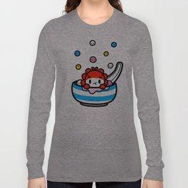 Winter Solstice - QiQi eating dumplings Long Sleeve T-shirt