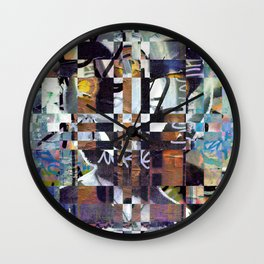 Monday 3 June 2013: Perhaps perception permeates permanence perfectly. Wall Clock