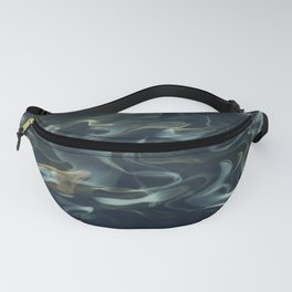 H2O # 1 - Water Abtract Fanny Pack