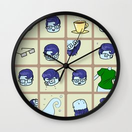 Ghost Sona Wall Clock