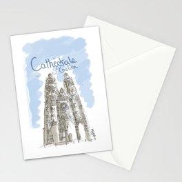 Cathédrale de Tours Stationery Cards