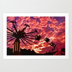 Summer Swing Art Print