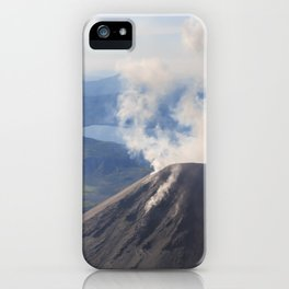 Karymsky Volcano iPhone Case