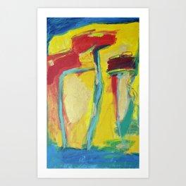 Cravos Art Print
