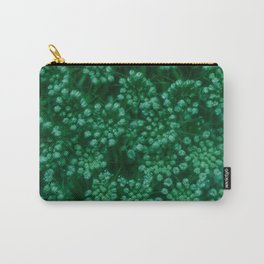 Green Queen Anne's Lace (Up Close) Carry-All Pouch