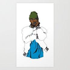 SHAY Art Print