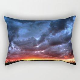 Angry Sunset Rectangular Pillow