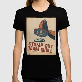 Stamp Out Team Skull T-shirt