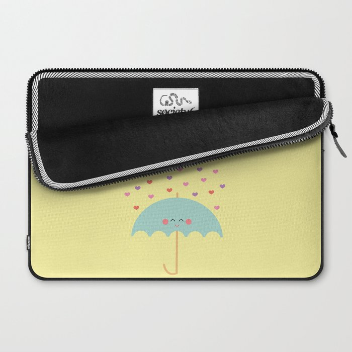 Love Rain Laptop Sleeve