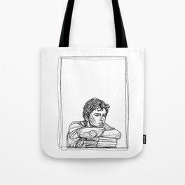 Timothée Chalamet B&W Tote Bag