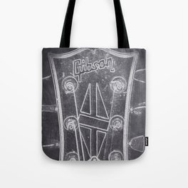 Gibson's headstock Tote Bag