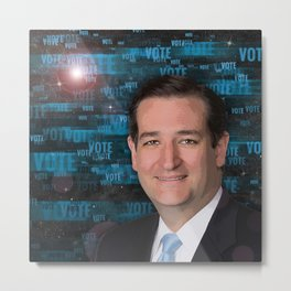 Vote Ted Cruz Metal Print