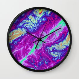 Fractal Arabesque Wall Clock