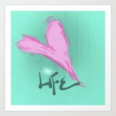 Love Life Art Print