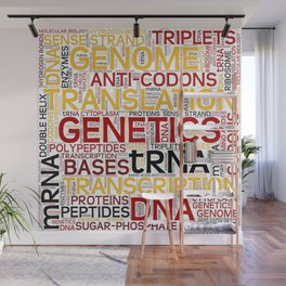 MOLECULAR BIOLOGY - Protein Synthesis Wall Mural