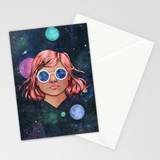 The Universe In Your Eyes Stationery Cards