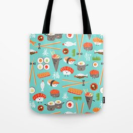 Happy Sushi Tote Bag