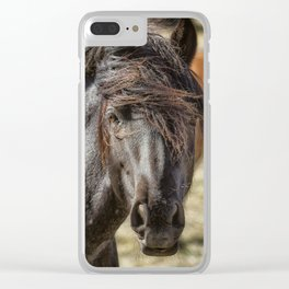 Wild Beauty Clear iPhone Case