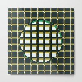 Green Exclusion Metal Print