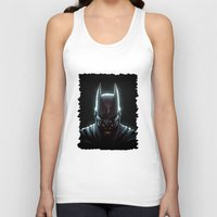 bat man Tank Tops featuring BAT MAN - bat man by Raisya