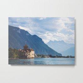 Chillon Castle In Montreux Metal Print