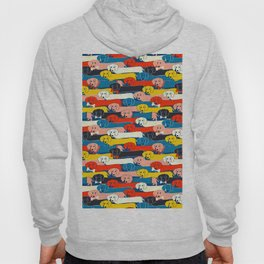 COLORED DOGS PATTERN 2 Hoody