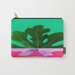 Fig Leaf Diamond Christmas - Other Half and Half Carry-All Pouch
