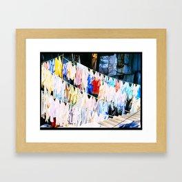 Dhobi Ghat 14 Framed Art Print