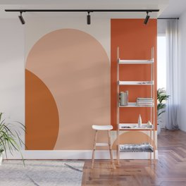 abstract minimal #8 Wall Mural