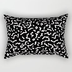 Retro Themed Repeated Pattern Design Rectangular Pillow