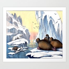 Polar Convention Art Print