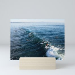 Surf   Ride Sally Ride Mini Art Print