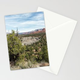 The View from Coyote Ridge Trail in Red Rock State Park Stationery Cards