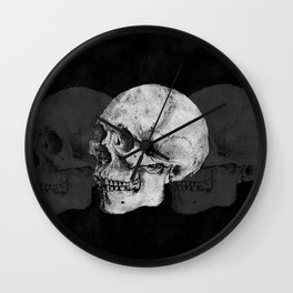 We Left As Skeletons  Wall Clock